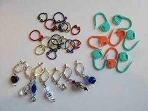 Some of my Favorite Stitch Markers
