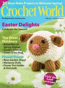 """Cover of """"Crochet World"""""""