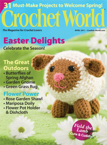 "Cover of ""Crochet World"""