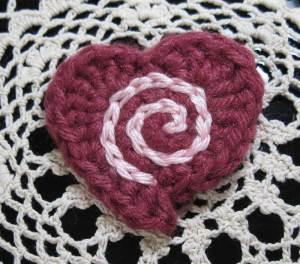 Spiral-in-a-heart
