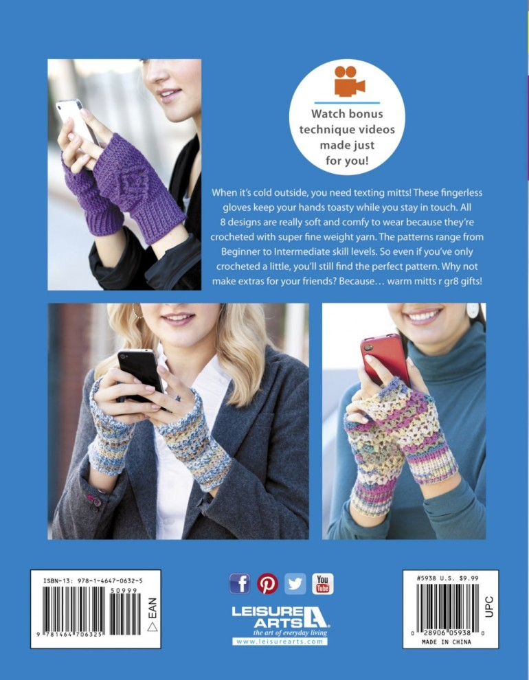Photo of Back Cover courtesy of Leisure Arts Publishing.