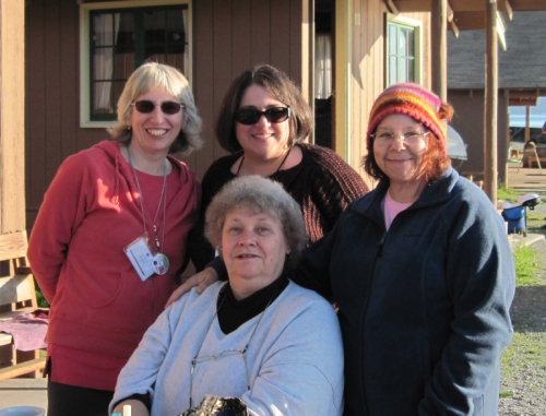 CLF Retreat at Cama October 2010From Left: Me, Karen, Janet (in front), & the Lovely Sarah.