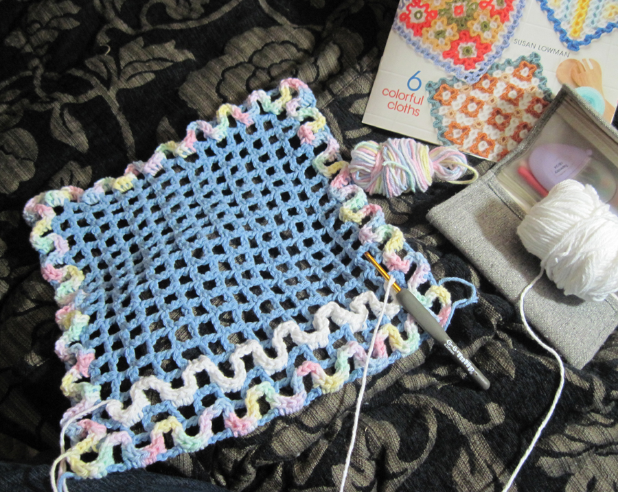 "Wiggly Crochet Dishcloths"" Review 