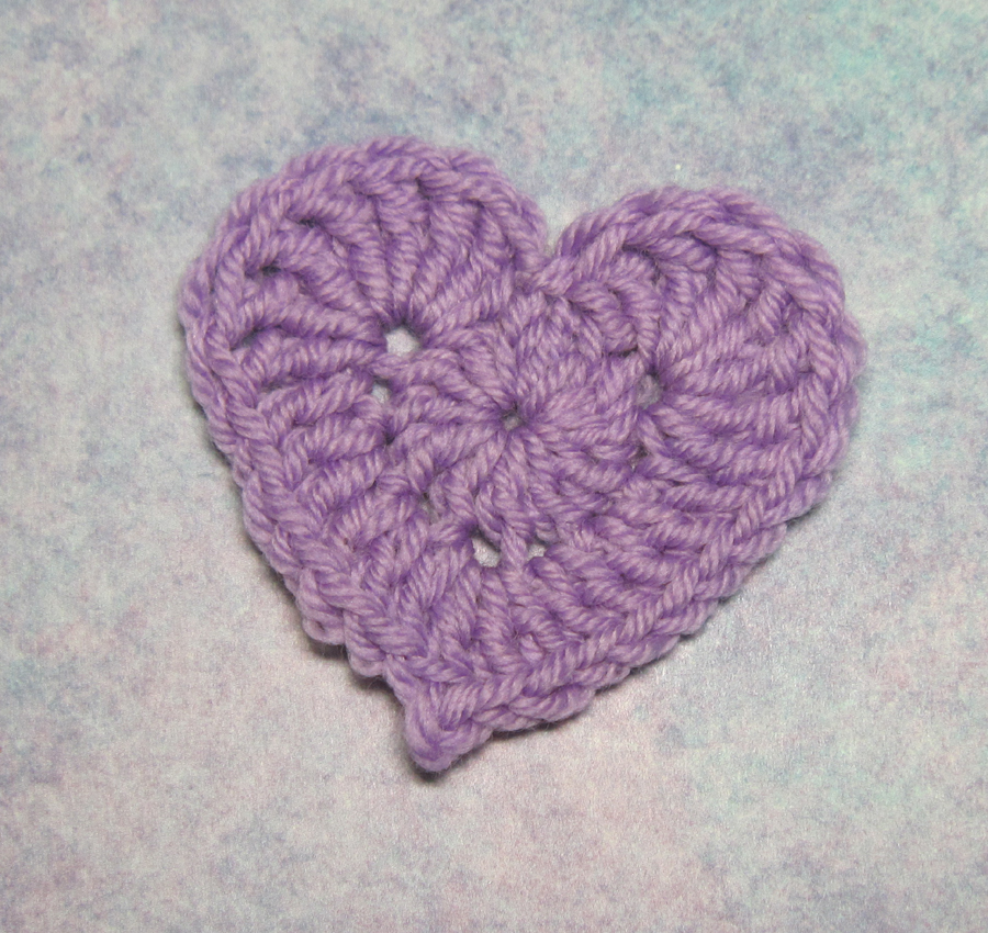 Love Of Crochet Com : Crocheted Love Sample photo