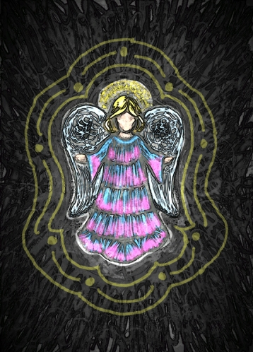Sm Angel Drawing 5