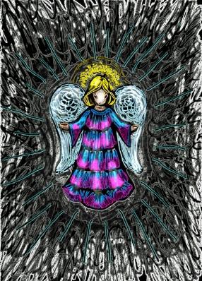 Sm Angel Drawing 6