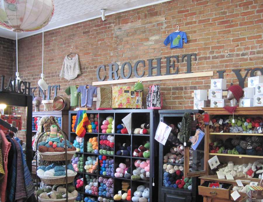 Crocheting Yarn Shop : Wonderful Yarn Store Two Hands Healing and Creative Arts