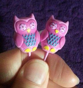 close up of Owls