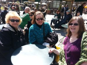 Our picnic in Bryant Park