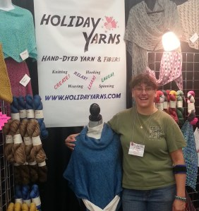Jennifer at Holiday Yarns