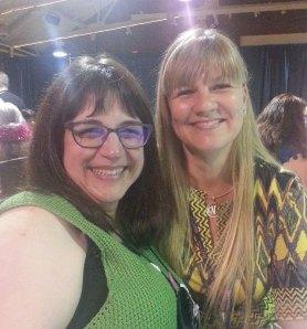 Karen Whooley and Kimberly McAlindin