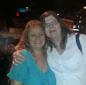 Kim Guzman and Mary Beth Temple