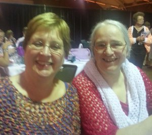 Margie Fultz and Jane Rimmer