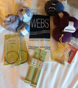 My WEBS goodies