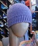 Purple Hat on Table Model small-1