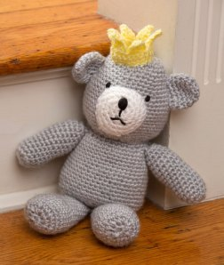 """Red Heart's """"Birthday Bear for a Prince"""""""
