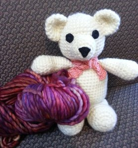 Bear and Malabrigo