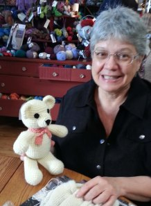 Kathy and Bear