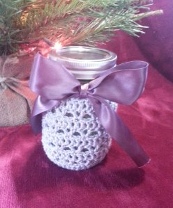 Sparkly Jar Cover