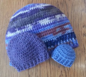 Crochet the Perfect Fit Hat class samples