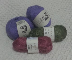 The yarns I brought home