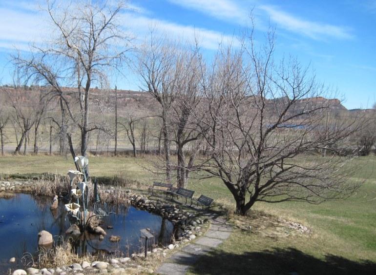 SR Sculpt Pond and Labrth