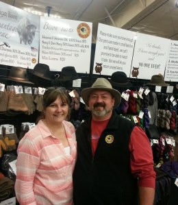 Theresa and Ron of Buffalo Wool Co.