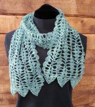 Ebb & Flow Scarf worn open