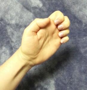 Hand Stretch - Fold 1