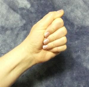 Hand Stretch - Fold 2