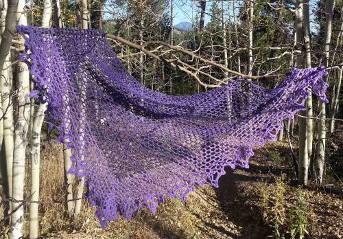 Mtn Whisper Shawl - M2H Designs