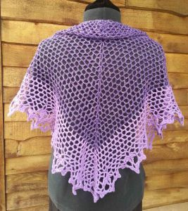 Shawl from Back