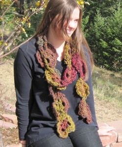 Tumbling Leaves Scarf - M2H Designs