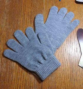 Pair of Grey Gloves