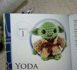 Yoda in book