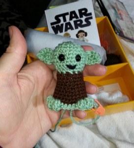 Yoda w feet