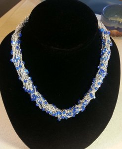Sophisticated Simplicity Necklace - Andee Graves/M2H Designs