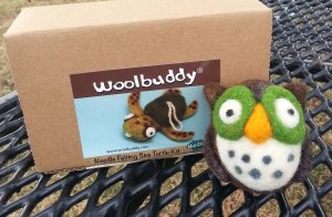 Woolbuddy kit and my owl