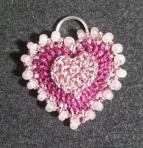 Finished Heart Pendant