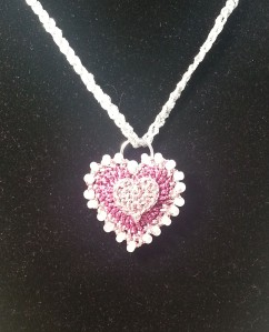 Necklace on Model2