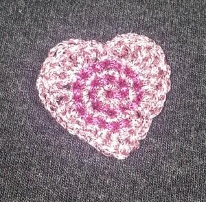Spiral Heart in K