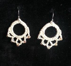 Gold w Gold Earrings