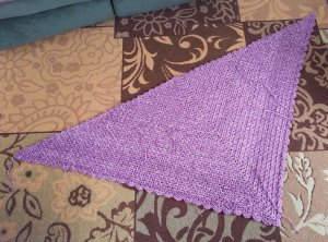 Finished PWT before tails woven