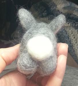 Fluffy Bunny bum