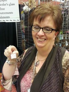 Lovely Karen w my pendant