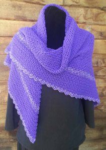 Playing with Triangles Shawl