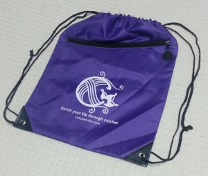Purple Backpack bag