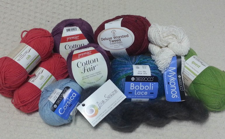 Yarn from 1st Gift Bag