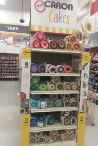 Caron Cakes at Michaels