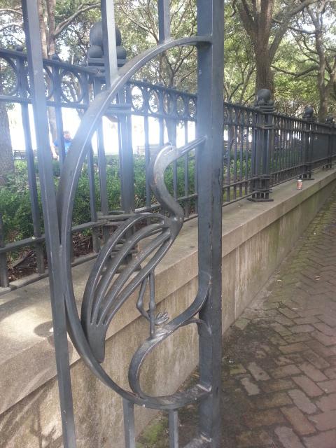 Crane Iron Gate